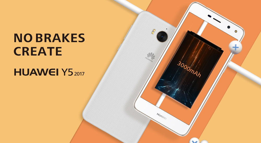 Huawei Y5 2017 announced