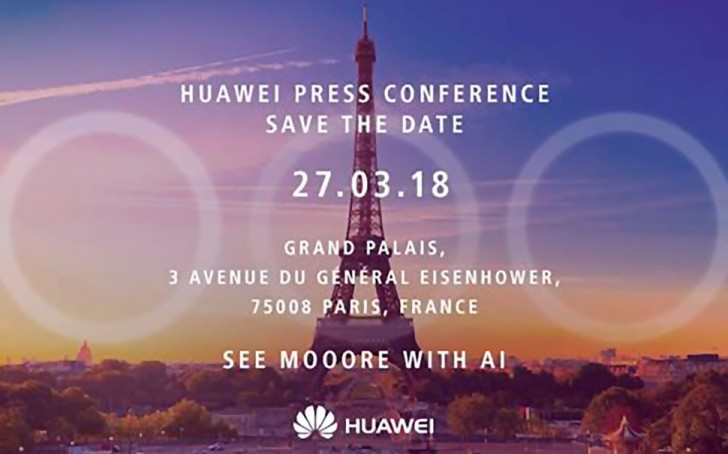 Press invites for Huawei P20