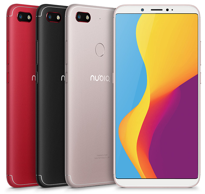 ZTE Nubia V18 announced