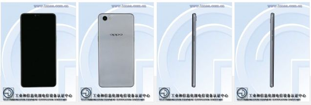 Oppo A3 spotted at TENAA