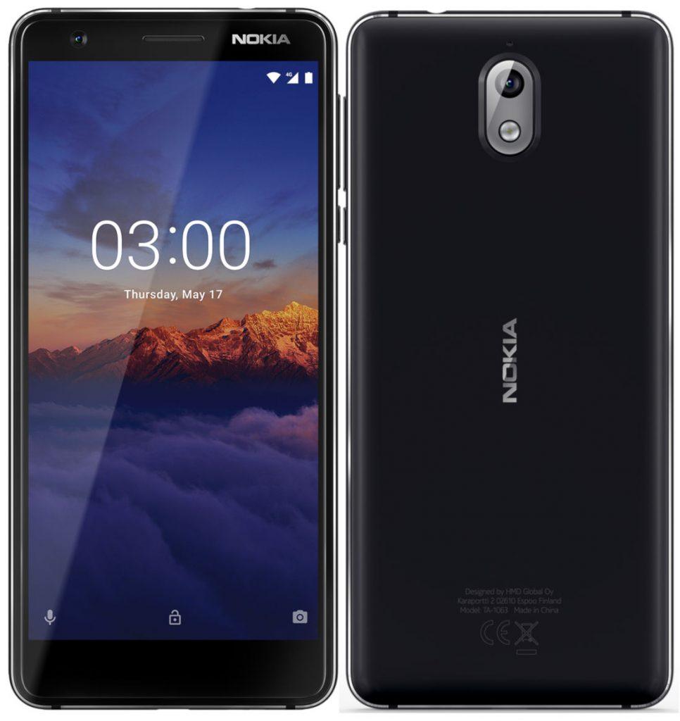 Nokia 3.1 announced