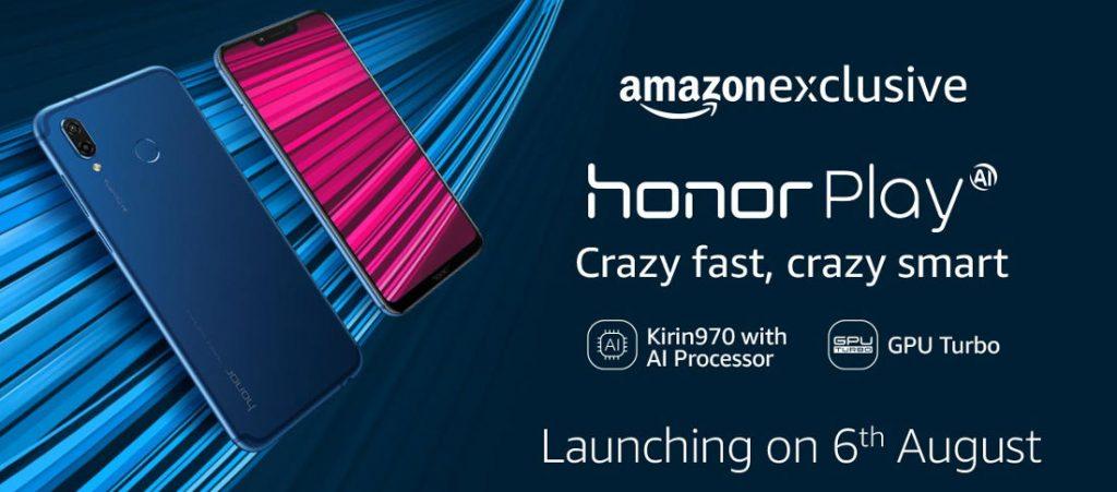 Huawei Honor Play invites