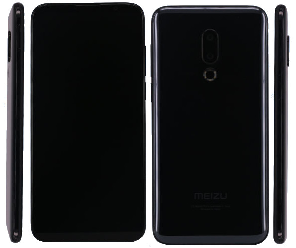 Meizu 16 Plus image leaked on TENAA