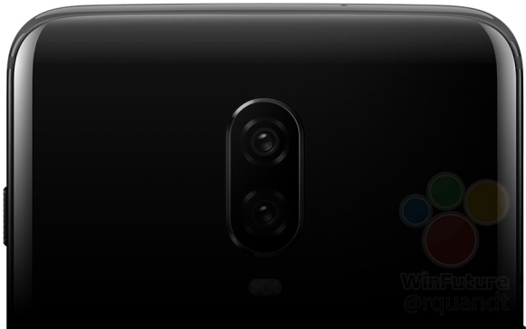 OnePlus 6T render reveals