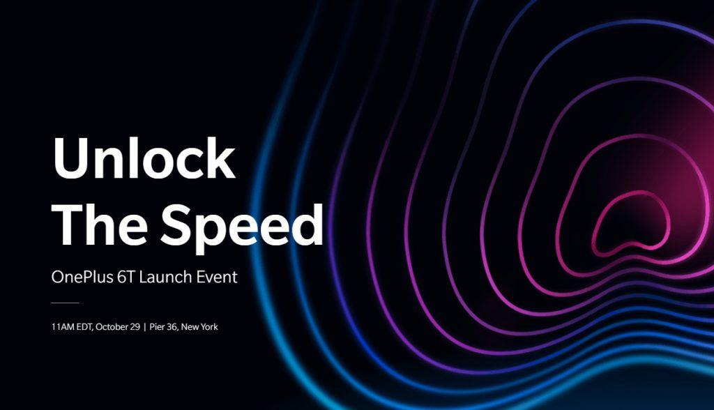 OnePlus 6T launch invite