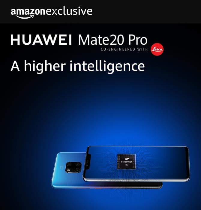 Huawei Mate 20 Pro Amazon Exclusively