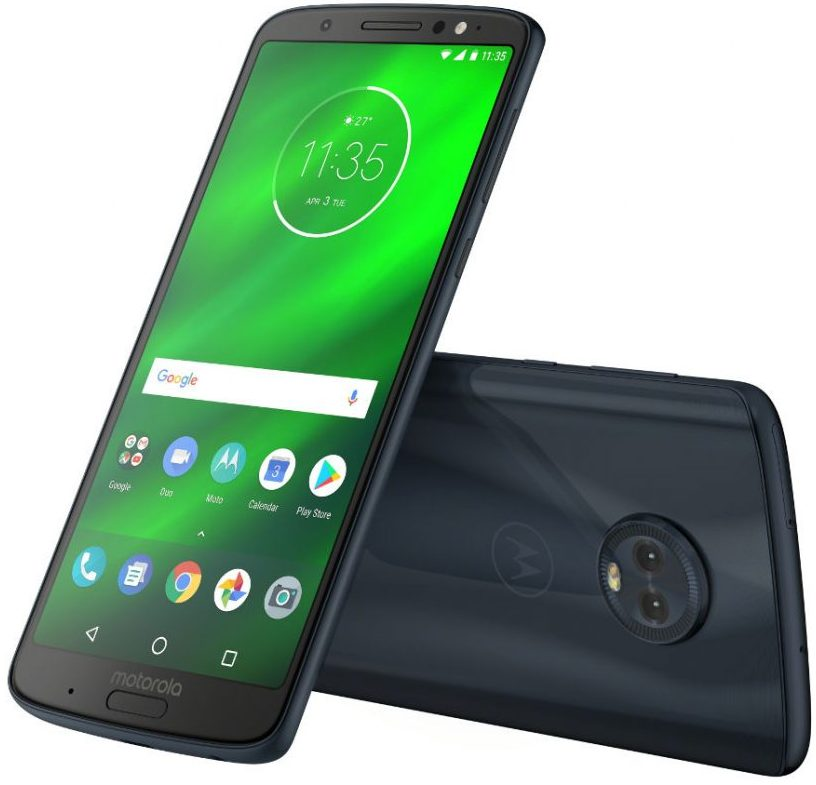 Motorola Moto G6 Plus announced