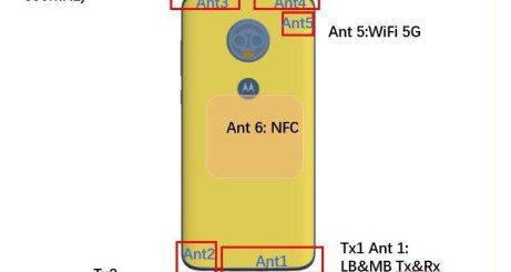Motorola Moto G7 FCC certified