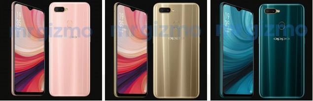 Oppo A7 images leaks