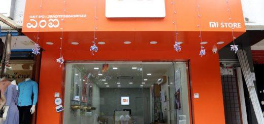Xiaomi Mi Store opened