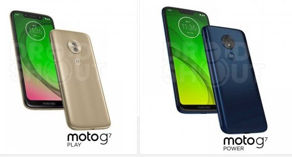 Moto G7 Play renders leak