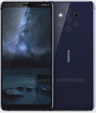 Nokia 9 Pureview leaks