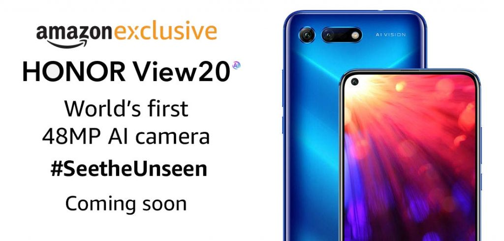 Honor View 20 India teaser released