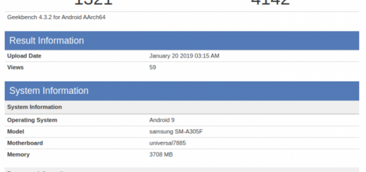 Samsung Galaxy A30 spotted at benchmark