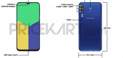 Samsung Galaxy M30 Schematic diagram leaks