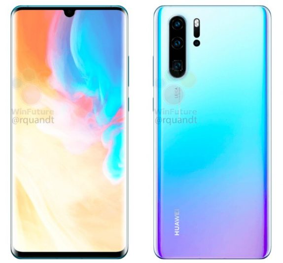 Huawei P30 Pro image leaks