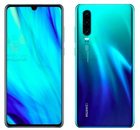 Huawei P30 specs leak