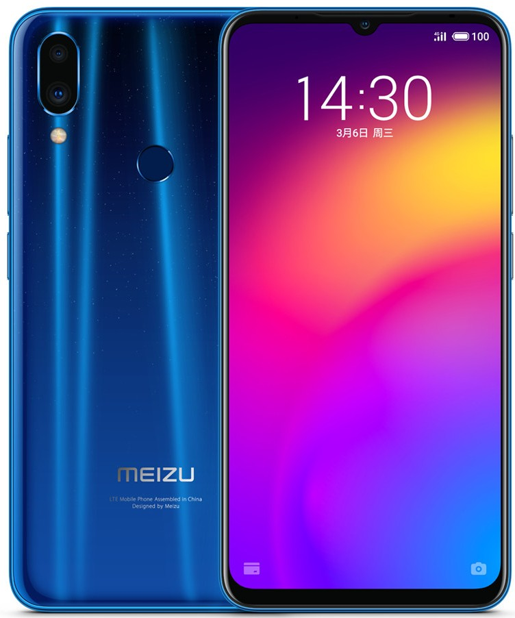 Meizu Note 9 announced