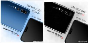 Huawei P20 promo images leaked