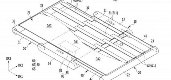 Samsung patent for smartphone released
