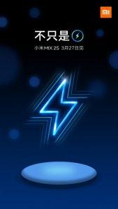 Xiaomi Mi Mix 2S with wireless charging