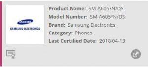 Samsung Galaxy A6+(2018) gets FCC certification