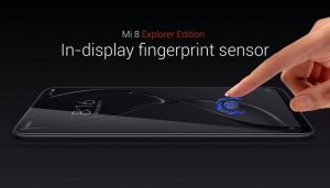 Xiaomi Mi 8 Explorer Edition announced