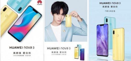 Huawei Nova 3 image leaked