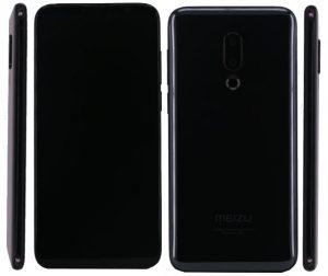 Meizu 16 Plus image leaked on TENAA