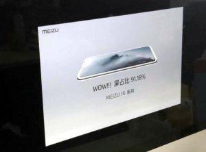 Meizu 16 image leaked