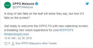 Oppo F9 image leaks