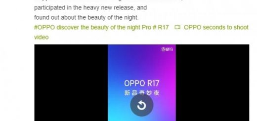 Oppo R17 launching leaked
