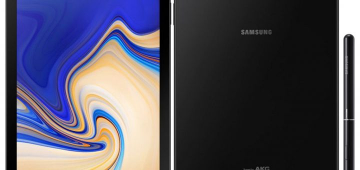 Samsung Galaxy Tab S4 announced