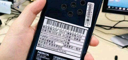 Nokia penta lens phone leaks