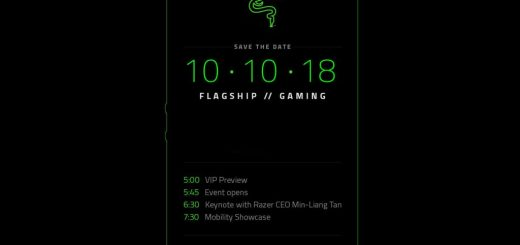 Razer Phone 2 press invite release