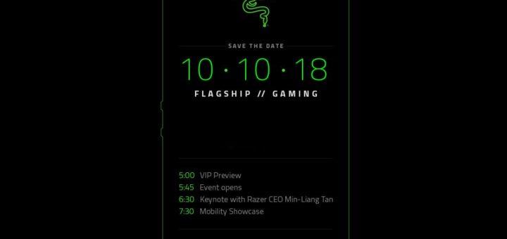 Razer Phone 2 press invite release