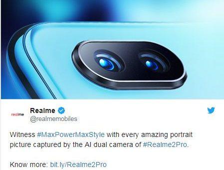 Realme 2 Pro image leaked