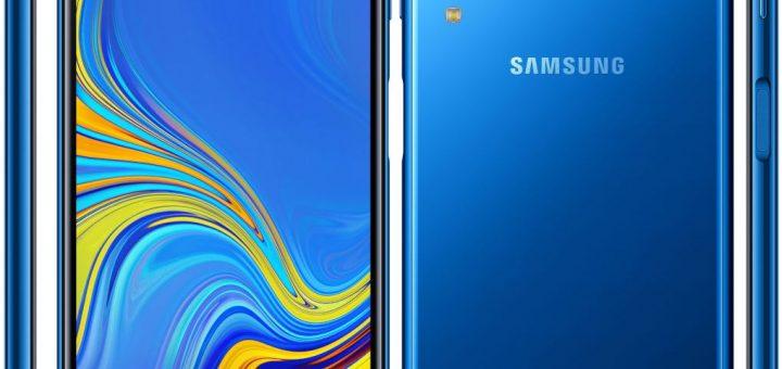 Samsung Galaxy A7 (2018) announced