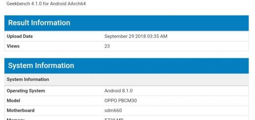 Oppo K1 at Geekbench