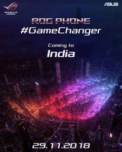 Asus ROG Phone invite sent