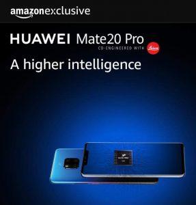 Huawei Mate 20 Pro Amazon Exclusively