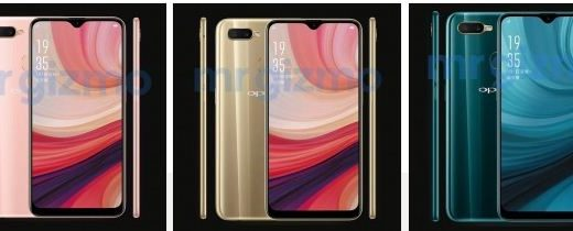 Oppo A7 image leaked