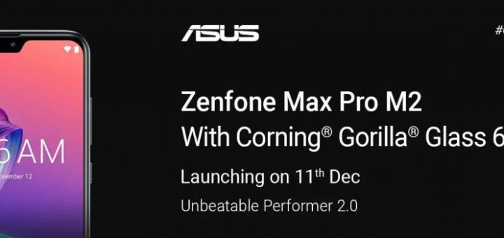 Asus Zenfone Max Pro M2 launch invite