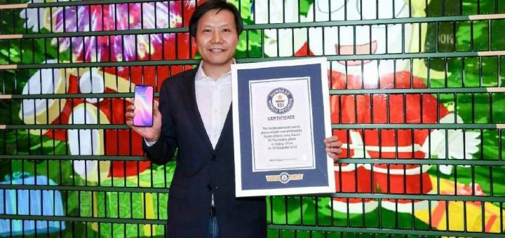 Xiaomi Record largest mobile mosaic create