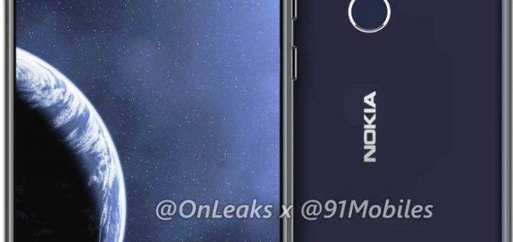 Nokia 8.1 Plus render leaks