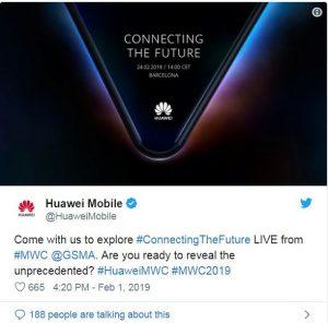 Huaei foldable phone coming