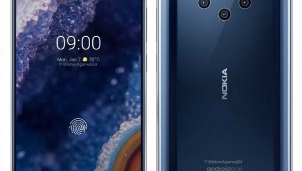 Nokia 9 PureView render leaks