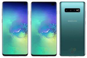 Samsung-Galaxy-S10-Plus renders leak