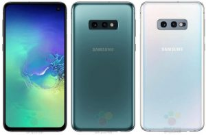 Samsung Galaxy S10E renders reveal