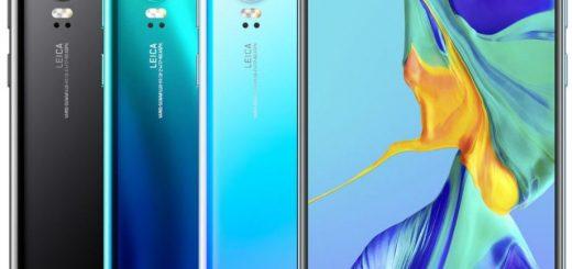 Huawei P30 announced